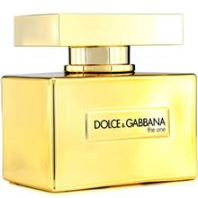 Dolce and Gabbana The One Gold Limited Edition Eau De Parfum For Women 75ml