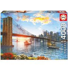 Educa Brooklyn Bridge NewYork 4000 Pcs Puzzle