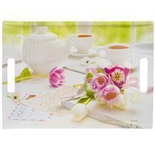 سيني باريکو مدل Tea And Tulips سايز 27x38 سانتي متر
