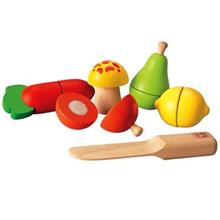 Plan Toys Fruit And Vegetable Play Set Toys