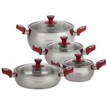 Hascevher Papatya Cookware Set 8 Pieces