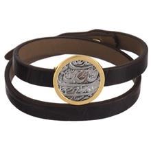دستبند طلا 18 عیار تاج درسا مدل 202