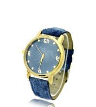 ساعت مچی زنانه طرح جین رنگی کادینا                      -  رنگ blue jean01