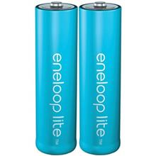 Panasonic Eneloop Lite Rechargeable AA Battery Pack of 2