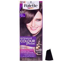 کیت رنگ مو پلت سری Intensive Colour Cream مدل Light Brown شماره 0-5