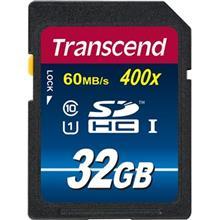 Transcend Premium UHS-I U1 Class 10 60MBps 400X SDHC - 32GB