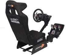 Playseat WRC with Logitech G27 wheel, pedal, Gear