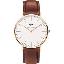 ساعت مچي عقربه اي مردانه دنيل ولينگتون مدل DW00100006