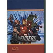Sam The Avengers Design Homework Notebook