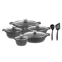 Candid New Harmoni Cookware Set 12 Pieces