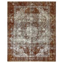 فرش دستبافت قديمي نه متري کد 600556