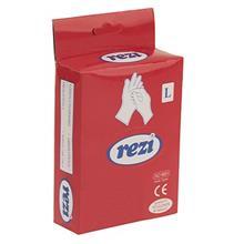 دستکش يکبار مصرف رزي کد 2626 - بسته 10 عددي