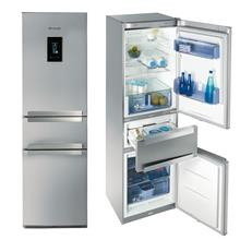 Brandt COMBI3DX – FINITION INOX Refrigerator