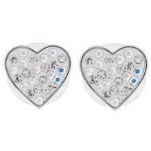 گوشواره اليور وبر مدل Lucky Heart Rodio Crystal AB22415R