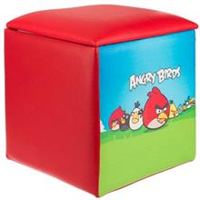 Pink Angry Birds Kids Sofa Puff