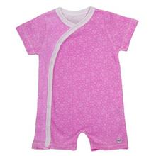 لباس سرهمي هشداردهنده تب بيبي گلو مدل Pink