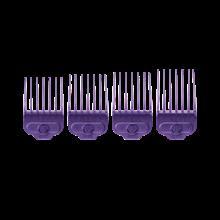ست شانه راهنمای اصلاح اندیس Andis Large Nano-Silver 4 piece Magnetic Comb Set