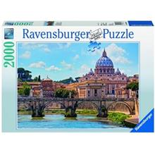 Ravensburger Angel Bridge In Rome Puzzle 2000 Pc