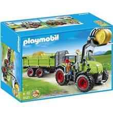 ساختني پلي موبيل مدل Large Tractor with Trailer 5121