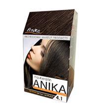 رنگ موی کراتینه آنیکا                     -  رنگ 4-1- قهوه ای خاکستری