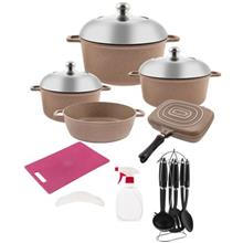 PSD 53221 Cookware Set 21 Pieces