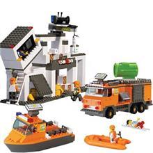 اسباب بازي ساختني اسلوبان مدل SOS Rescue Distribution Center M38-B0106