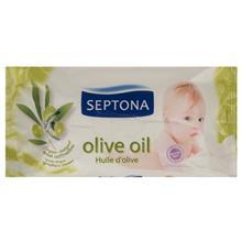 دستمال مرطوب کودک سپتونا مدل Olive بسته 60 عددي