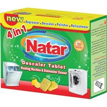 Natar Dishwasher and Washing Machine Descaler Tablet Pack of 12