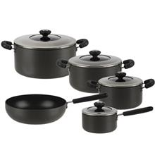 Master Hard Anodized Cookware Set 9 Pieces