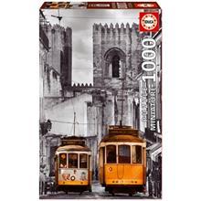 پازل 1000 تکه ادوکا مدل The Alfama District Lisbon Miniature