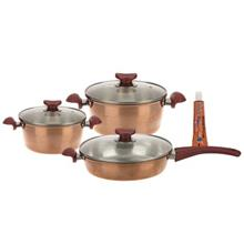 Uranus Mina Copper Cookware Set 6Pcs