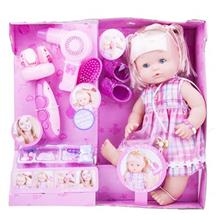 Warm Baby Pink Hair Dresser Toys Doll Size Medium