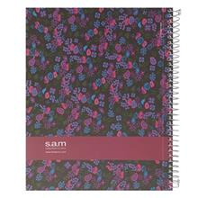 Sam Tiny Flowers Design Homework Notebook