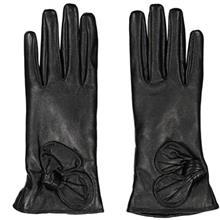 دستکش زنانه چرم مشهد مدل Black R0162