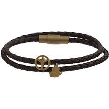 دستبند طلا کیا گالری مدل برگ و صلح