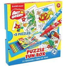 بسته رنگ آميزي اريش کراوزه مدل Puzzle Fun Box