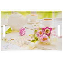 Barico Tea And Tulips Tray 31x47 cm