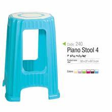 چهار پایه پیانو 4 آذر پلاستیک مدل 240