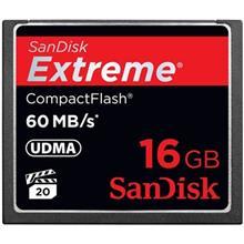 کارت حافظه CompactFlash سن دیسک مدل Extreme سرعت 400X 60MBps ظرفیت 16 گیگابایت