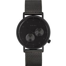 Komono Walther Black Mesh Watch