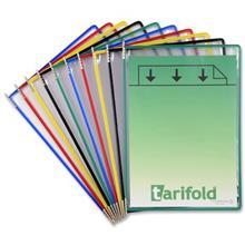 کاور محوردار  يدک کاغذ A4 تاريفولد - بسته 10 عددي