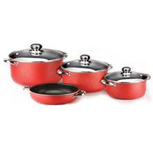 Zarsab 7 Pieces Cookware Set With Glass Cap OR-5410G