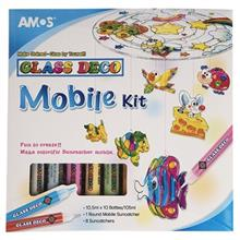 بسته ساخت آويز آموس سري Glass Deco مدل Mobile Kit