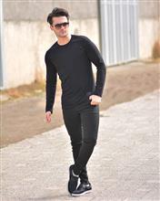 تی شرت مردانه آستین بلند مدل 8055