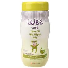 دستمال مرطوب وي مخصوص کودک مدل Olive Oil بسته 70 عددي