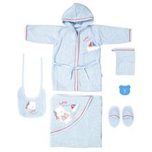 Babydo Little Sailor Baby Towel Set