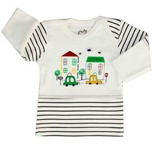 Adamak Car Baby T Shirt With Long Sleeve