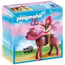 ساختني پلي موبيل مدل Forest Fairy Surya with Horse 5449