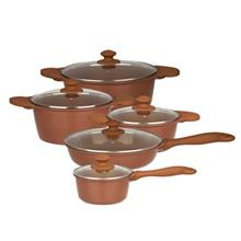 Nab Steel Valencia Cookware Set 10 Pieces