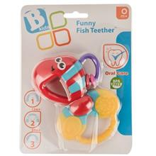 Blue Box Funny Fish Teether